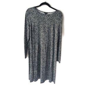 J. Jill Wearever Collection NWT Dress 1X NWT B&W